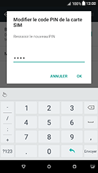 HTC Desire 650 - Sécuriser votre mobile - Personnaliser le code PIN de votre carte SIM - Étape 12