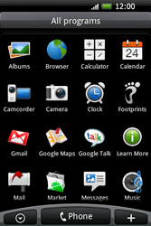 HTC A6262 Hero - Internet - Internet browsing - Step 2