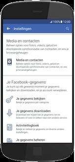 Alcatel A3 - apps - deactiveer automatisch afspelen in Facebook - stap 6