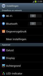Samsung I9300 Galaxy S III - Wi-Fi - Verbinding maken met Wi-Fi - Stap 4