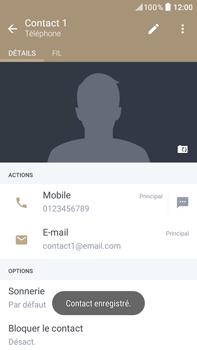HTC Desire 825 - Contact, Appels, SMS/MMS - Ajouter un contact - Étape 13