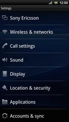 Sony Ericsson Xperia Neo V - Mms - Manual configuration - Step 4