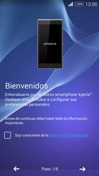 Sony D2203 Xperia E3 - Primeros pasos - Activar el equipo - Paso 4