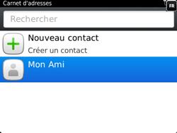 BlackBerry 9320 - Contact, Appels, SMS/MMS - Ajouter un contact - Étape 14