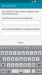 Samsung Galaxy S5 mini - Email - Manual configuration - Step 18