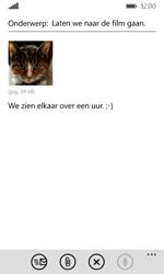 Microsoft Lumia 532 - E-mail - E-mails verzenden - Stap 14
