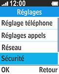 Bouygues Telecom Bc 211 - Sécuriser votre mobile - Activer le code de verrouillage - Étape 4