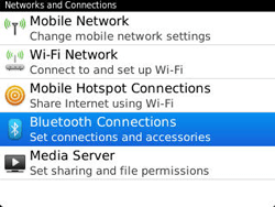 BlackBerry 9320 Curve - Bluetooth - Pair with another device - Step 5