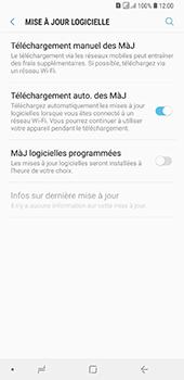 Samsung Galaxy A7 2018 - Aller plus loin - Mettre à jour le logiciel interne de votre mobile - Étape 6