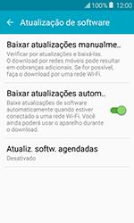 Samsung Galaxy J1 - Funções básicas - Como atualizar o software do seu aparelho - Etapa 6