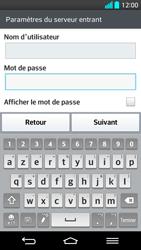 LG G2 - E-mail - Configuration manuelle - Étape 12