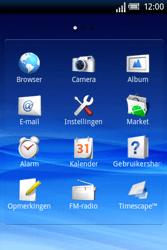 Sony Ericsson Xperia X8 - Internet - Aan- of uitzetten - Stap 3