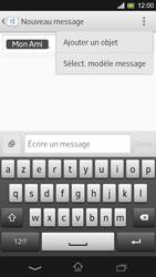 Sony Xpéria SP - Contact, Appels, SMS/MMS - Envoyer un MMS - Étape 10
