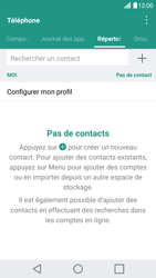LG G5 - Contact, Appels, SMS/MMS - Ajouter un contact - Étape 5