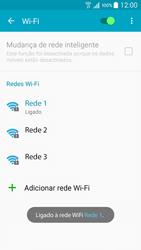 Samsung Galaxy A5 - Wi-Fi - Como ligar a uma rede Wi-Fi -  8