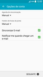 Samsung Galaxy A5 - Email - Configurar a conta de Email -  15