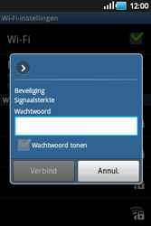Samsung S5660 Galaxy Gio - Wifi - handmatig instellen - Stap 8