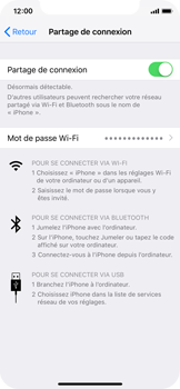 Apple iPhone XS - Internet - comment configurer un point d'accès mobile - Étape 8