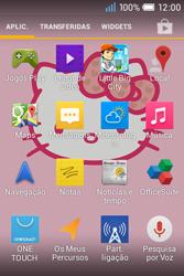 Alcatel POP C1 - SMS - Como configurar o centro de mensagens -  3