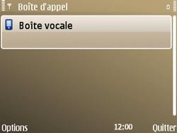 Nokia E72 - Messagerie vocale - Configuration manuelle - Étape 7
