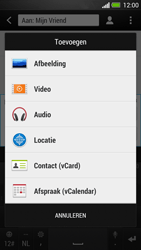 HTC One - MMS - afbeeldingen verzenden - Stap 11