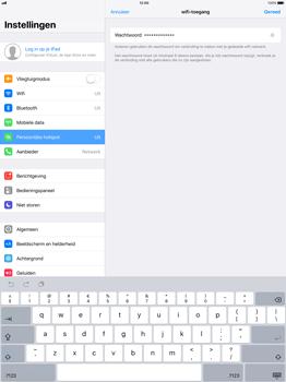Apple iPad Pro 12.9 (1st gen) - iOS 11 - WiFi - Mobiele hotspot instellen - Stap 5