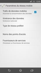 Sony Xperia E4g - Aller plus loin - Désactiver les données à l'étranger - Étape 8