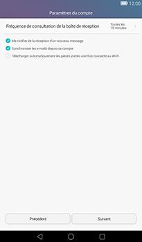 Huawei MediaPad T1 (7.0) - E-mail - Configuration manuelle - Étape 17
