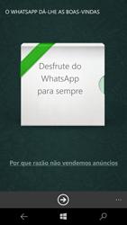 Microsoft Lumia 950 - Aplicações - Como configurar o WhatsApp -  10