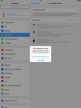 Apple iPad Pro 12.9 inch (Model A1671) - WiFi - Mobiele hotspot instellen - Stap 7