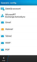 BlackBerry Z10 - E-mail - Account instellen (POP3 met SMTP-verificatie) - Stap 7