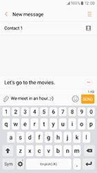 Samsung A320 Galaxy A3 (2017) - Mms - Sending a picture message - Step 11