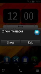 Nokia 700 - Settings - Configuration message received - Step 3