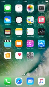 Apple Apple iPhone 6 Plus - iOS 10 - Internet - Popular sites - Step 1