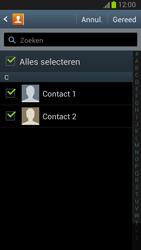 Samsung N7100 Galaxy Note II - Contacten en data - Contacten kopiëren van toestel naar SIM - Stap 7