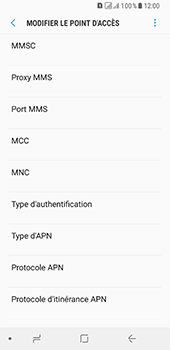 Samsung Galaxy A8 (2018) - MMS - configuration manuelle - Étape 16