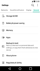 LG X Power - Device maintenance - Create a backup of your data - Step 4