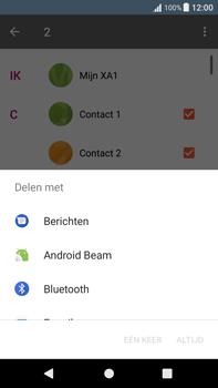 Sony Xperia XA1 Plus (G3421) - Contacten en data - Contacten overzetten via Bluetooth - Stap 8