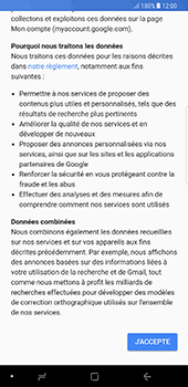 Samsung Galaxy Note 8 - Applications - Créer un compte - Étape 16