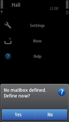 Nokia N8-00 - Email - Manual configuration - Step 5