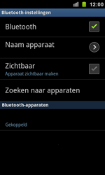 Samsung I9100 Galaxy S II - Bluetooth - headset, carkit verbinding - Stap 9