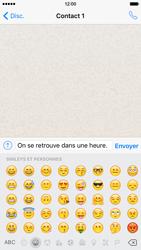 Apple iPhone 6 iOS 9 - WhatsApp - Envoyer des SMS avec WhatsApp - Étape 9
