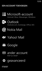 Nokia Lumia 520 - E-mail - Account instellen (POP3 met SMTP-verificatie) - Stap 6