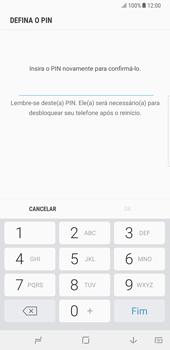 Samsung Galaxy Note 8 - Segurança - Como ativar o código de bloqueio do ecrã -  9