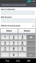 LG G2 - E-mails - Ajouter ou modifier un compte e-mail - Étape 11