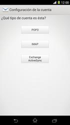 Sony Xperia Z1 - E-mail - Configurar correo electrónico - Paso 7