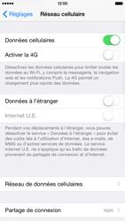 Apple iPhone 6 iOS 8 - Internet et connexion - Activer la 4G - Étape 4