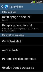 Samsung S7275 Galaxy Ace III - Internet - Configuration manuelle - Étape 22