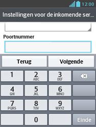 LG E430 Optimus L3 II - E-mail - e-mail instellen: POP3 - Stap 12