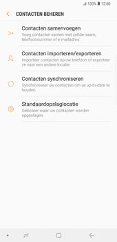Samsung galaxy-note-9-sm-n960f - Contacten en data - Contacten kopiëren van toestel naar SIM - Stap 7